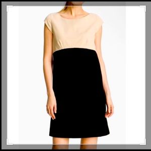 Kate Spade Tan and black Shift Dress